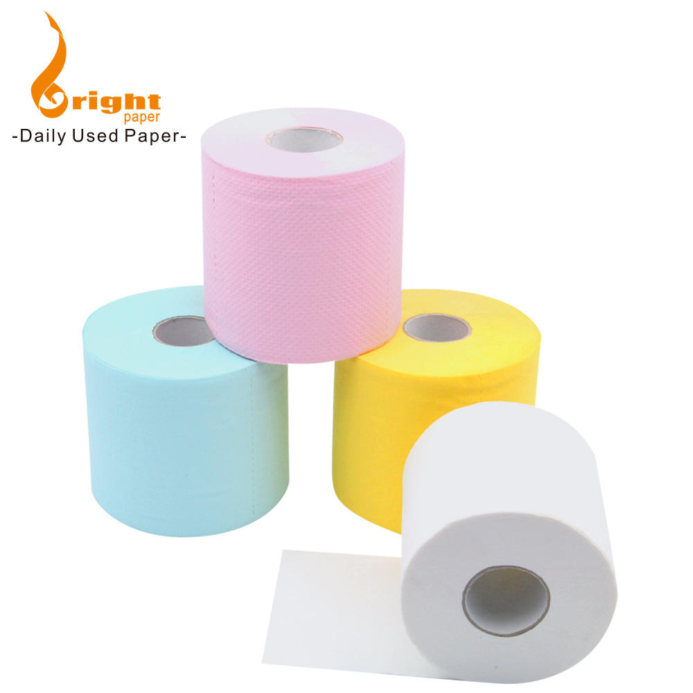 2 Ply Custom Print High Quality Funny Eco Commercial Toilet Paper Tissue