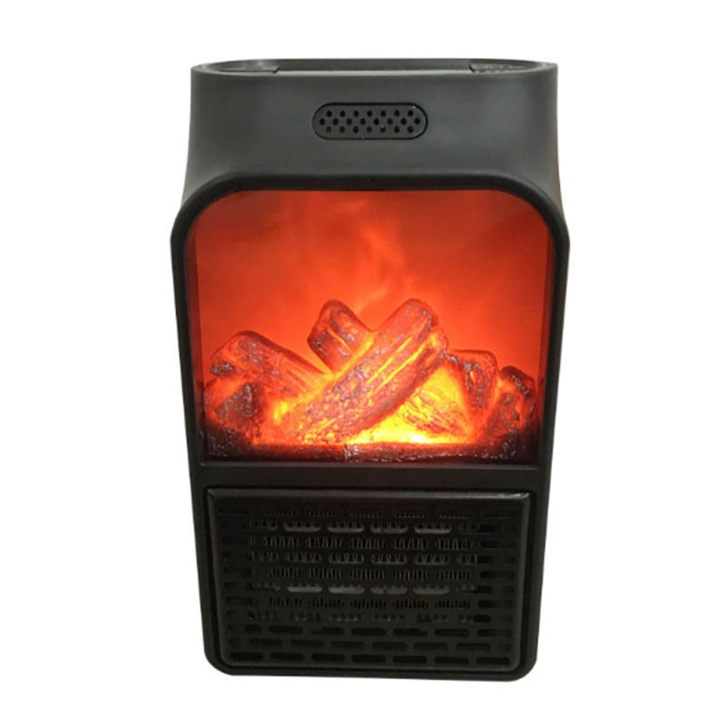 Hot Sale High Quality 900W Home Overheat Protection Portable Wall Mounted Electric Flame Heater