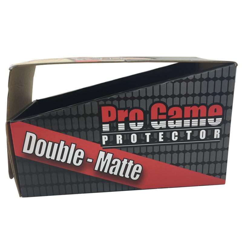 Новый дизайн сильный крафт-бумага черный гофрированные бумажные коробки для подарка конфеты игры