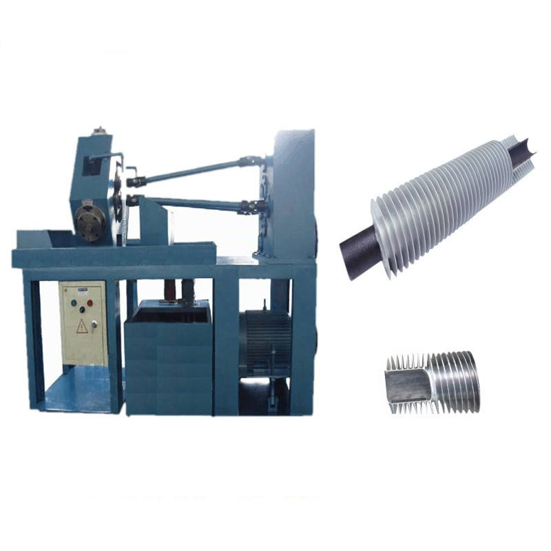 carbon steel tube aluminum fin extruded fin tube machine