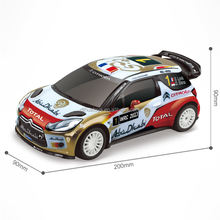Scale 1:20 R/C Toy Citroen DS3 WRC RC Car