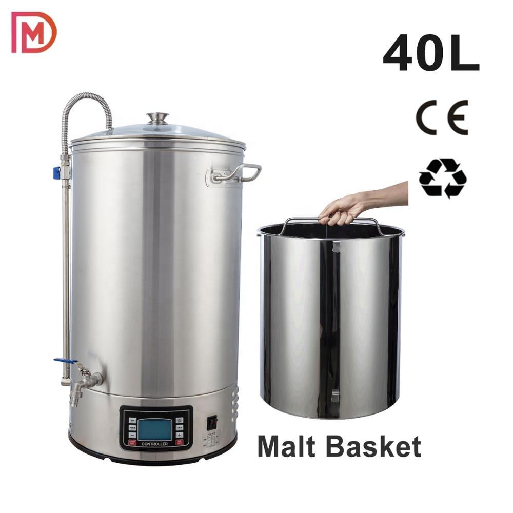China brewing equipment 40L /All in one brewing system /30L microbrewery guten/ craft beer party
