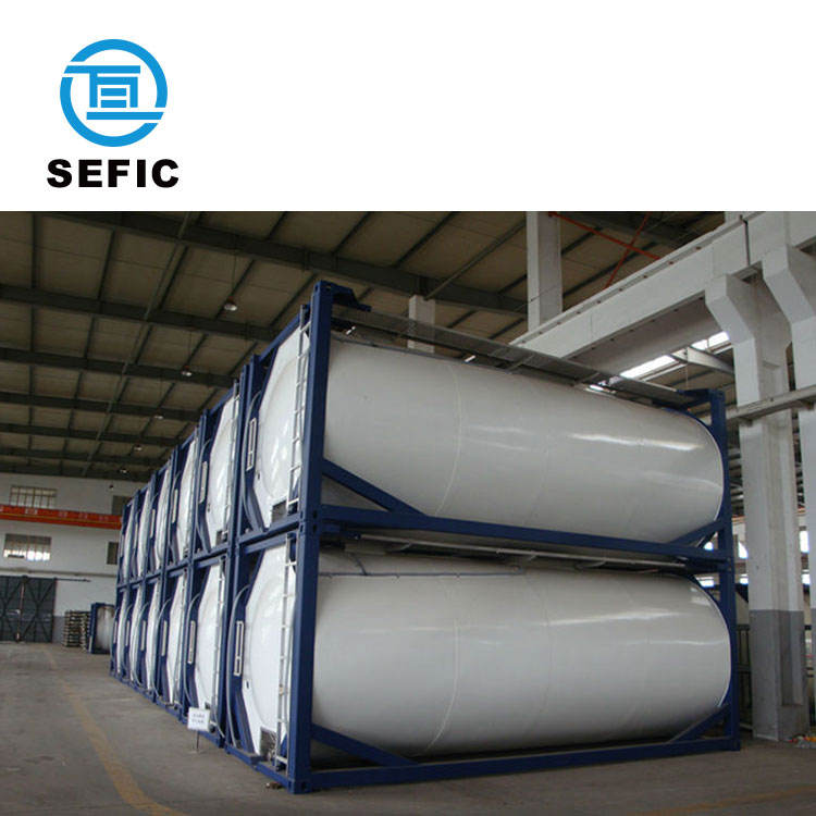 Liquefied Carbon Dioxide Cryogenic Vacuum Perlite Insulation Storage Tank