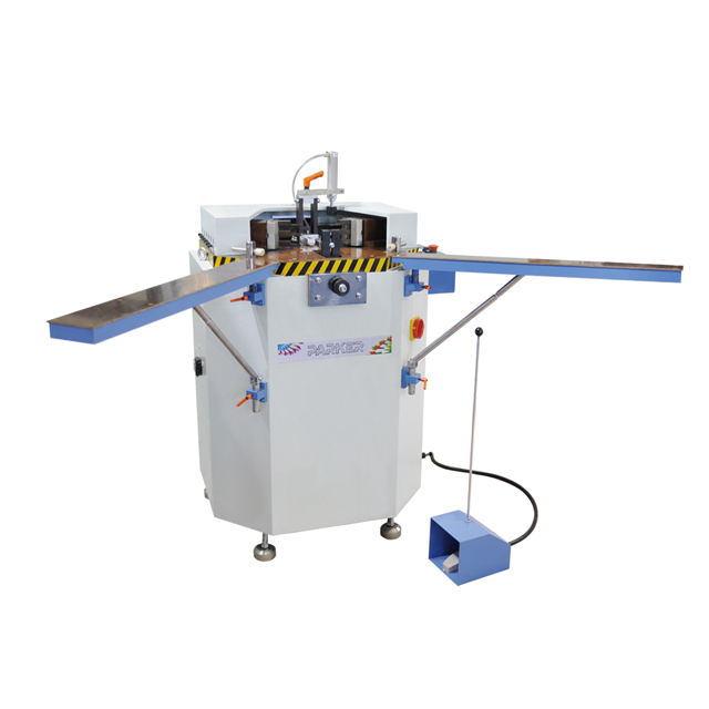China 1 year warranty aluminum window door single head corner crimping machine