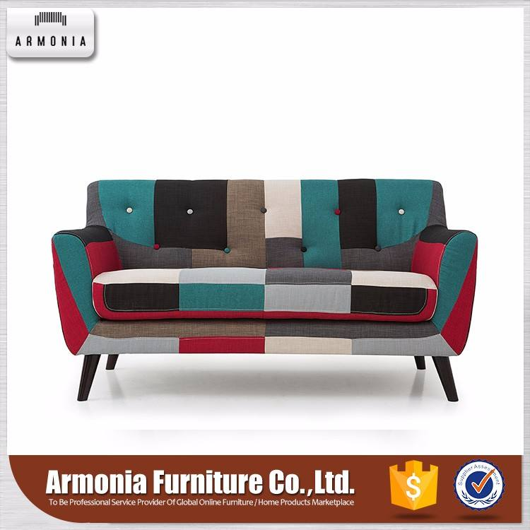 2 Asientos sofá <span class=keywords><strong>moda</strong></span> home use modern living room furniture