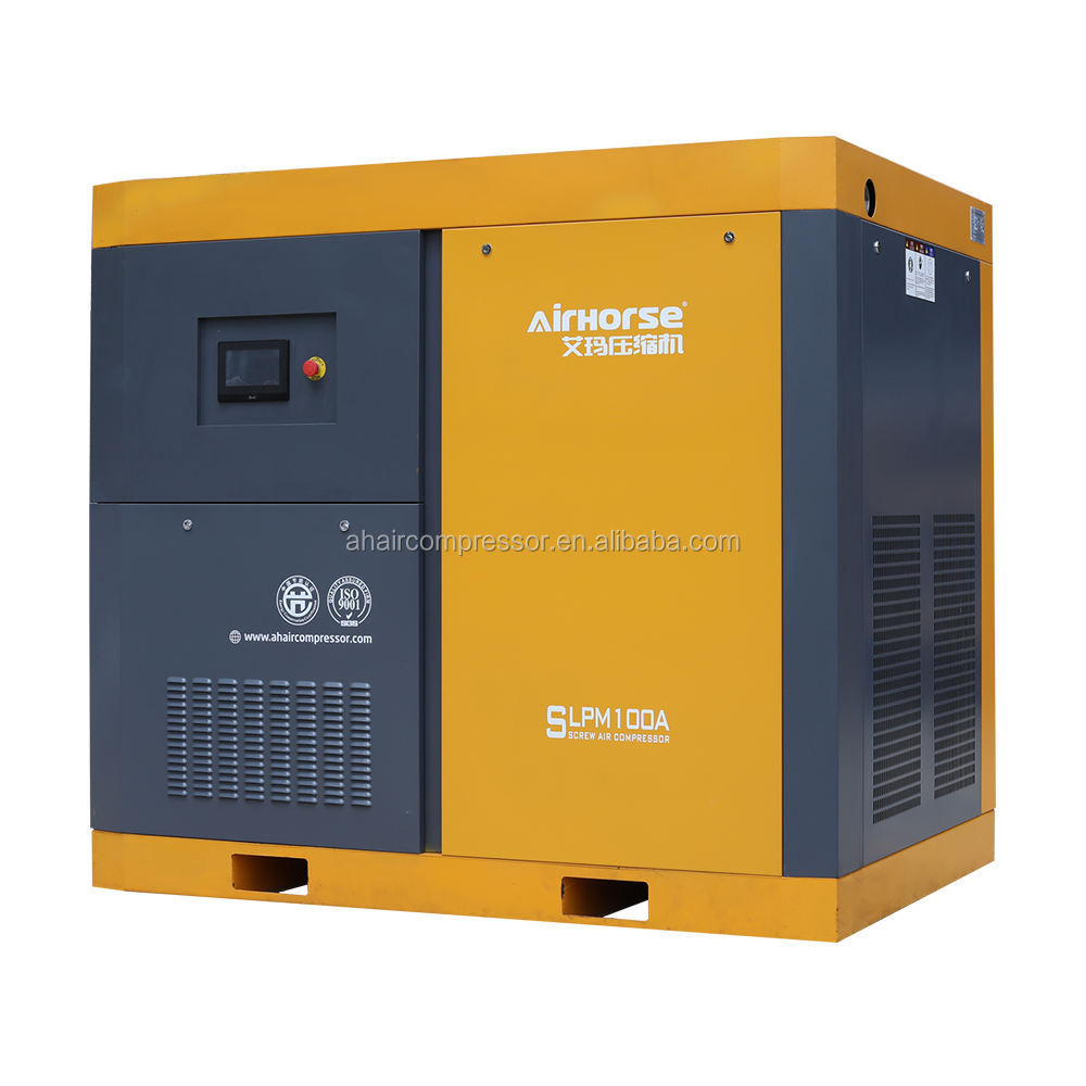 Electrical 7 Bar AC Rotary air-compressors 220v 45kw Portable Screw Air Compressor Stations For Gas Station