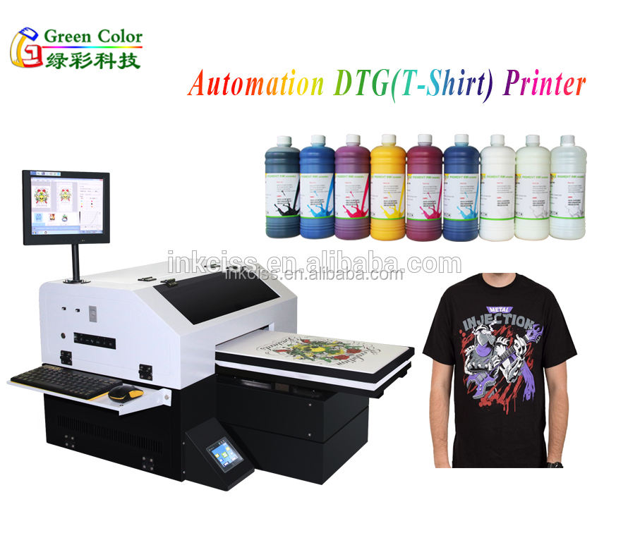 A3 size Digital T-shirt printer/Direct to garment textile printing machine