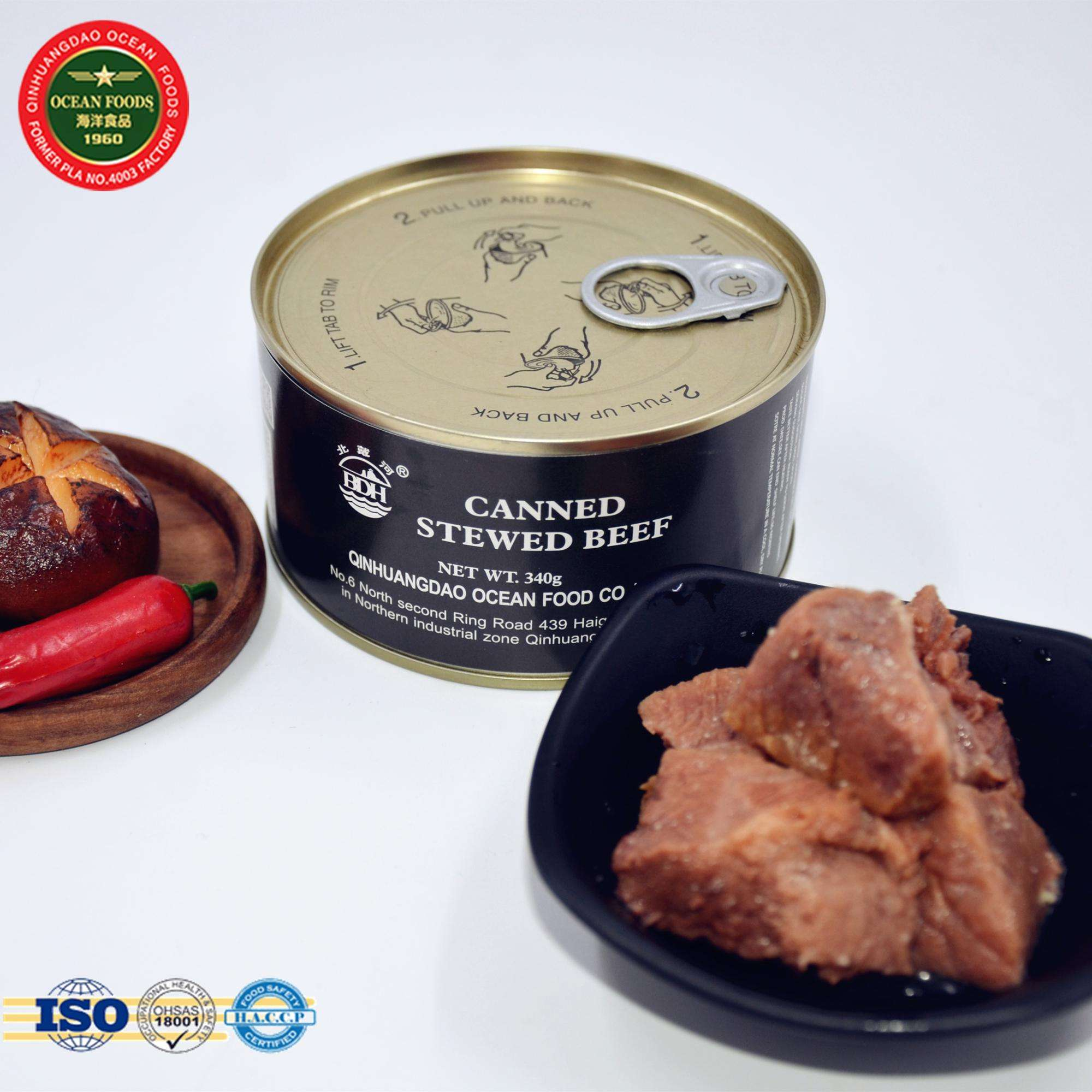 Canned meat 500g Stewed Beef Military canned food