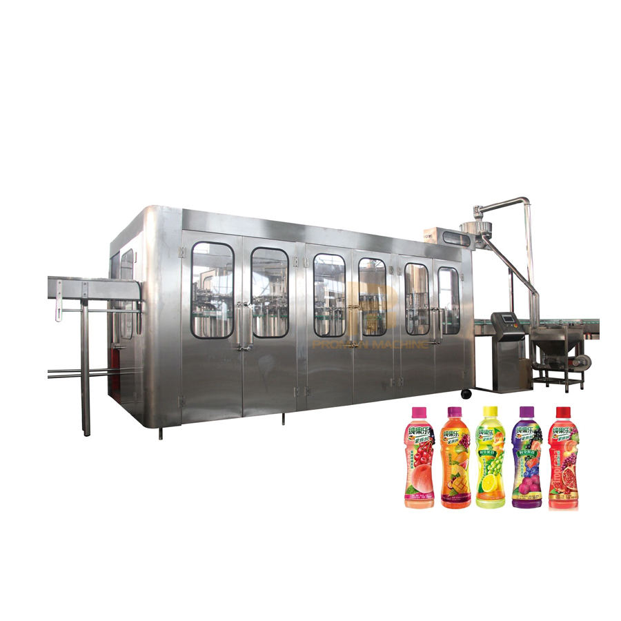 Complete Automatic Fruit Juice Production Line/Fresh Juice Filling Machine/Apple Juice Making Processing