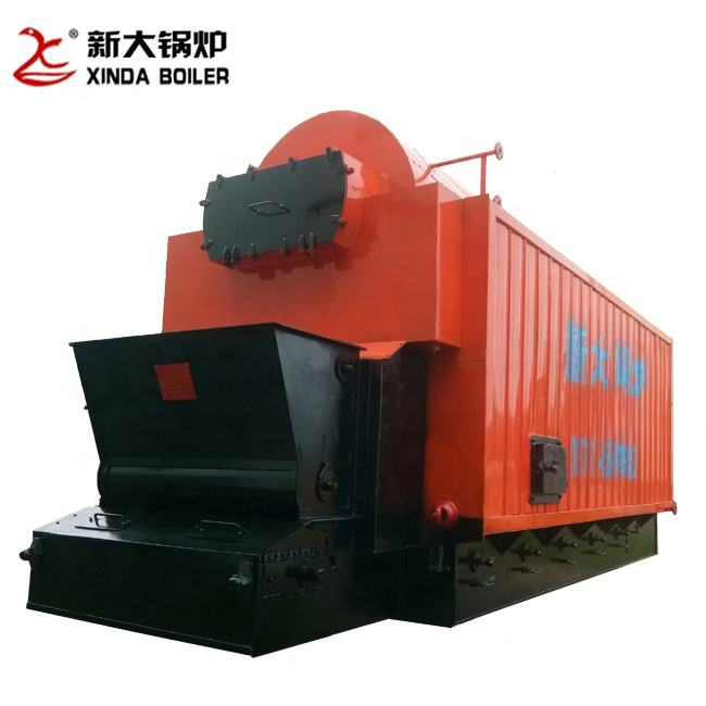 Machinery Repair Shops [ Coal ] Coal Fired Steam Boiler DZL Automatic Chain Grate Steam Boiler 2ton Evaporation Capacity Biomass Pellet Wood Chips Or Coal Fuel Fired