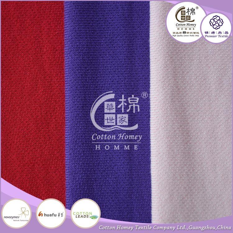 Sıcak satış son tarzı sportwears kullanımı kumaş toptan satış için yüksek kaliteli hafif pamuklu kumaş