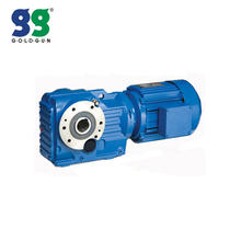 Shanghai Goldgun K Series Helical Bevel Gear Motor Gearbox