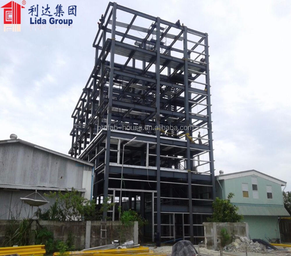 Low Cost Prefabricated Multistory High Quality Steel Structure Building