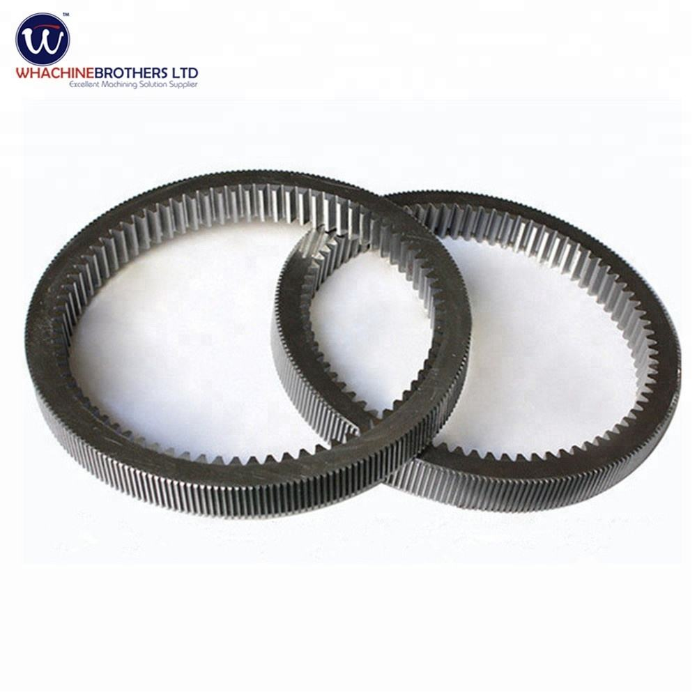 Customized internal ring gear for transmission made by WhachineBrothers ltd.