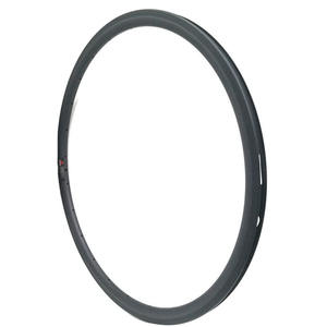 30mm Clincher rims 700C Full Carbon Bike Wheels tubeless ready 16-36 Holes Customized 23mm Width OEM and ODM bike parts