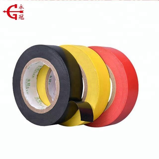Excellent quality color pvc electrical insulation tape log roll