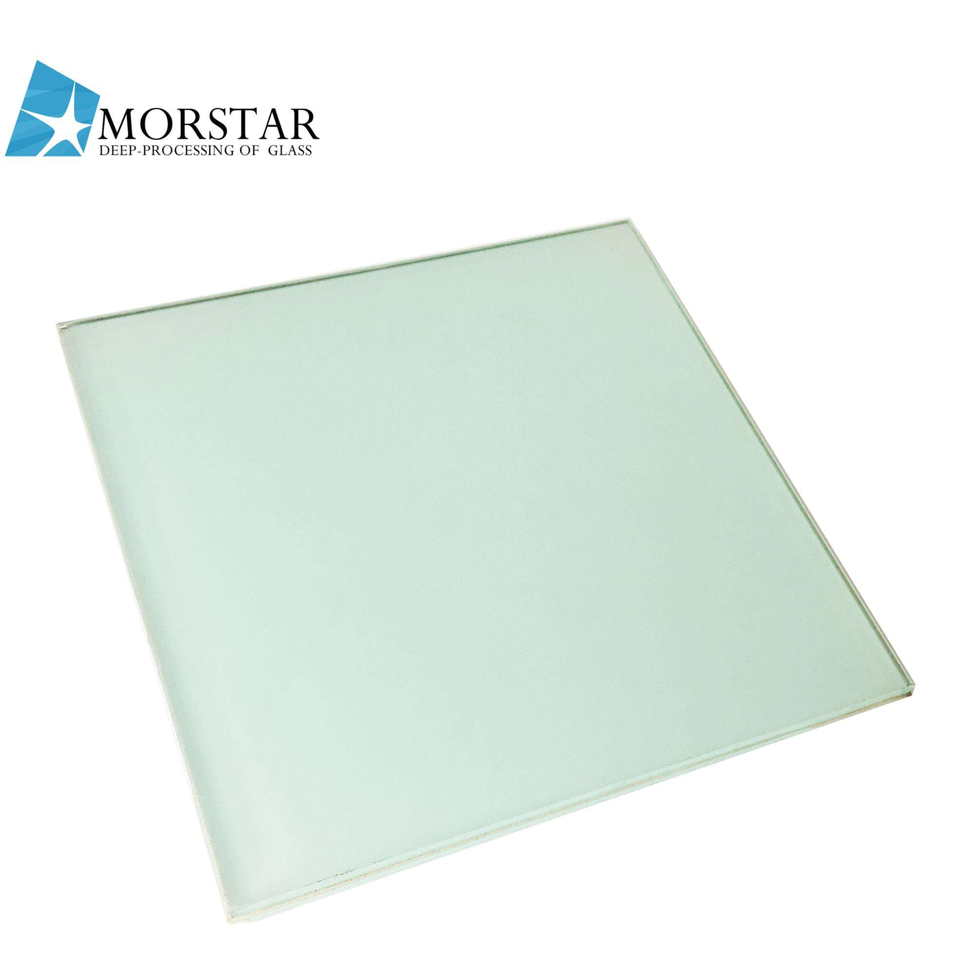 6.38mm Milky White Laminated Glass 3+0.38+3 White PVB Laminated Glass Manufacturer