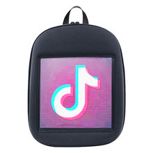 2019  SOLLED LED Screen Display Backpack DIY Wireless Wifi APP Control Advertising Backpack man business laptop bag
