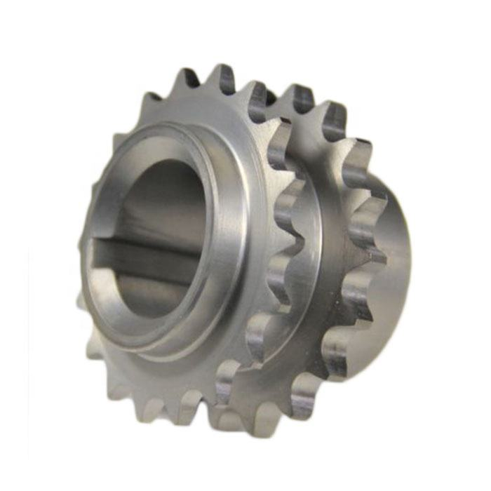 crankshaft single timing chain double row sprocket for race performance engine