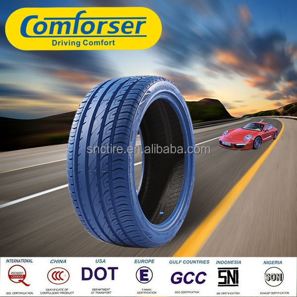 Comforser colored car tires blue tyres tyre manufacturers in China
