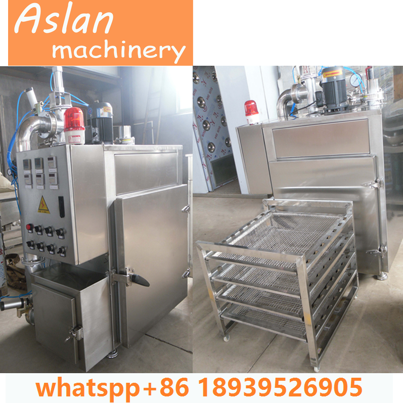 bacon making machine/tofu smoker machine/fish cold smoking oven