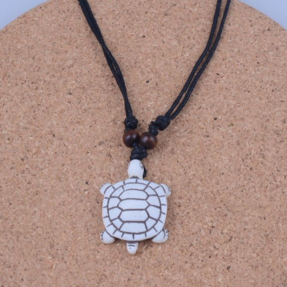 Fashion Handwork Necklace Animal Series Lovely Turtles Charm Jewelry Amulet Carved Artificial Yak Bone Pendant Necklaces Buy Turtle Necklace Yak Bone Necklace Animal Necklace Product On Alibaba Com