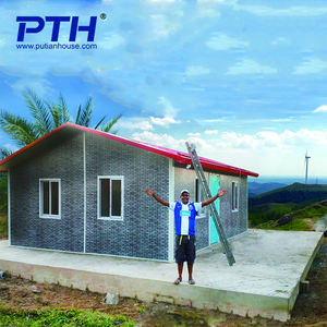 20' low cost sandwich panel mobile/movable prefab houses for construction site office/military camp