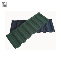 Building Materials Colorful Stone Chip Coated Metal Roofing Tiles Steel Sheet