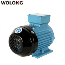 Wolong IE2 2P 380V 1Hp 3 Phase induction Water Pump Electric blower fan Motor