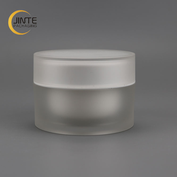 2020 New Product Facial Cream Package 50ml Frosted Cosmetic Acrylic Jar
