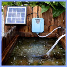 Eco-friendly Oxygen Pump Solar Powered Aquarium Air Pump