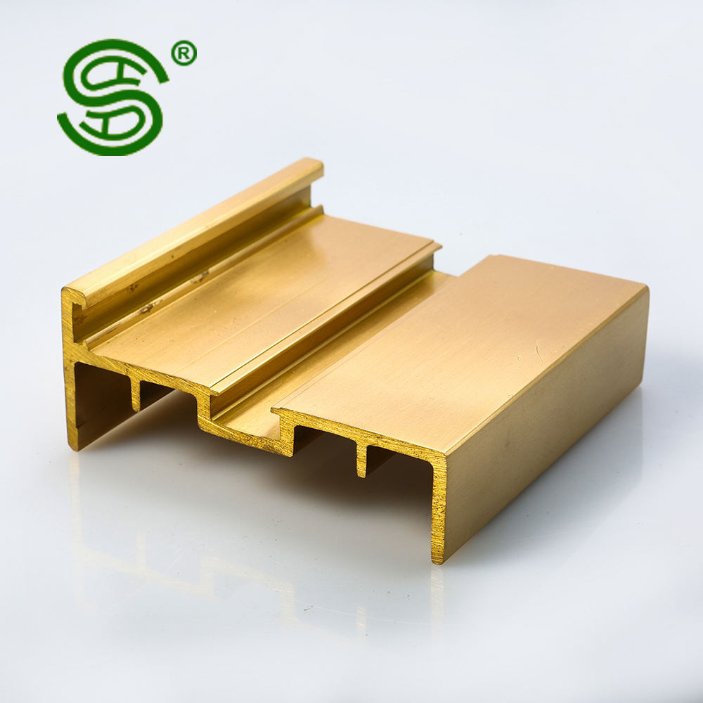 China factory popular Alloy Brass Copper Solid Extrusion Profile