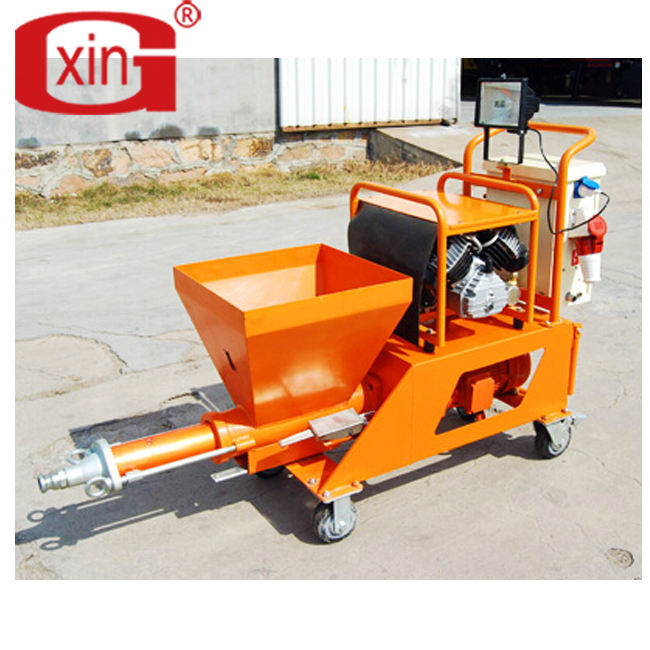 Wall Mortar Putty Spray Plastering Machine Putty Cement Spraying Machine