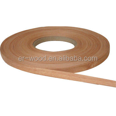 1mm Okoume edge banding wood veneer for furniture/decoration