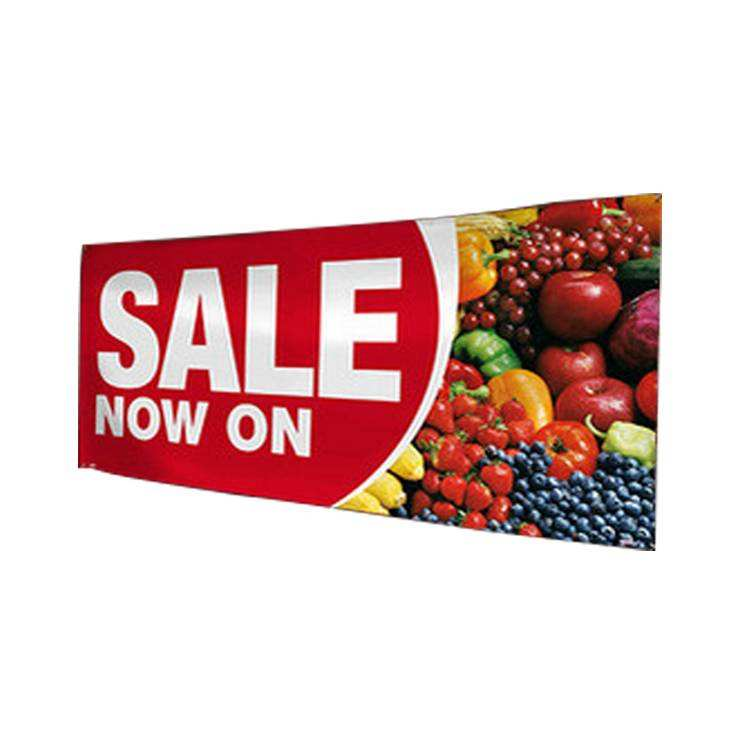 Cheap Banners Double Sided Cloth Fabric and Vinyl Displays