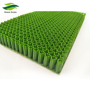 22mm white/Green Self-lubricated material dry ski slope for amusement park