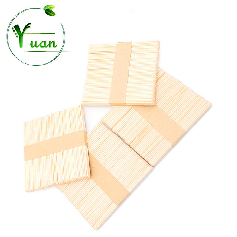 The factory directly 140mm birch wooden sticks for ice cream Wooden ice cream sticks