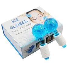 Smart Magic Ice globes Roller Ball Facial Massage Tools for Face and Neck