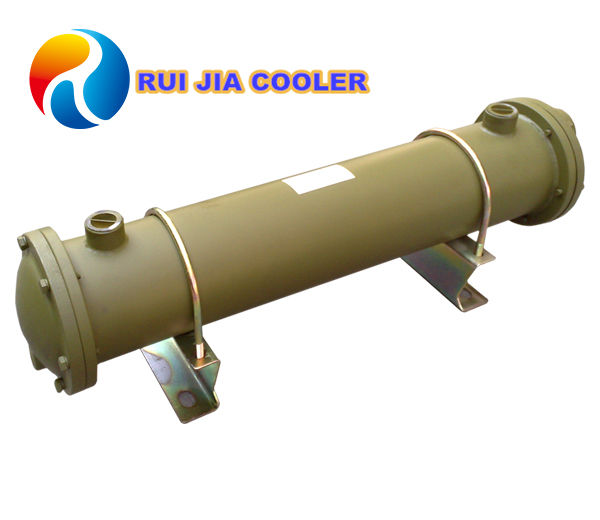 Air to air heat exchanger for compressed air cooler solar conditioner recovery condenser