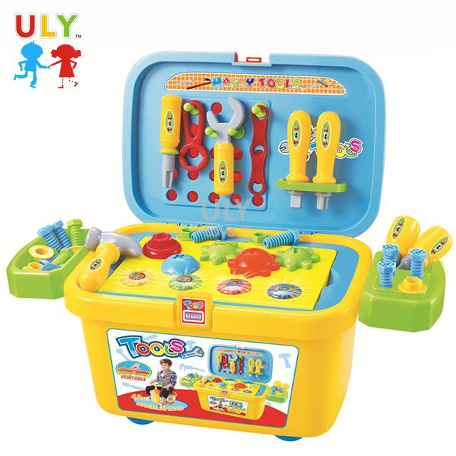 Calidad Superior niños educativos plástico traje divertido simulado <span class=keywords><strong>conjunto</strong></span> de herramientas de juguete