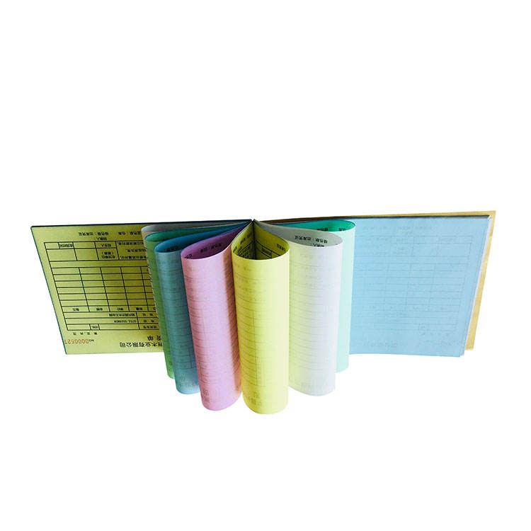Factory supplier Custom business receipt book/delivery shipping invoice book printing