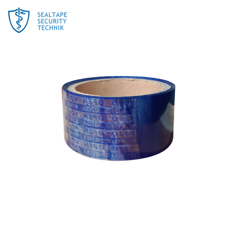 security tamper proof void open tape for carton sealing