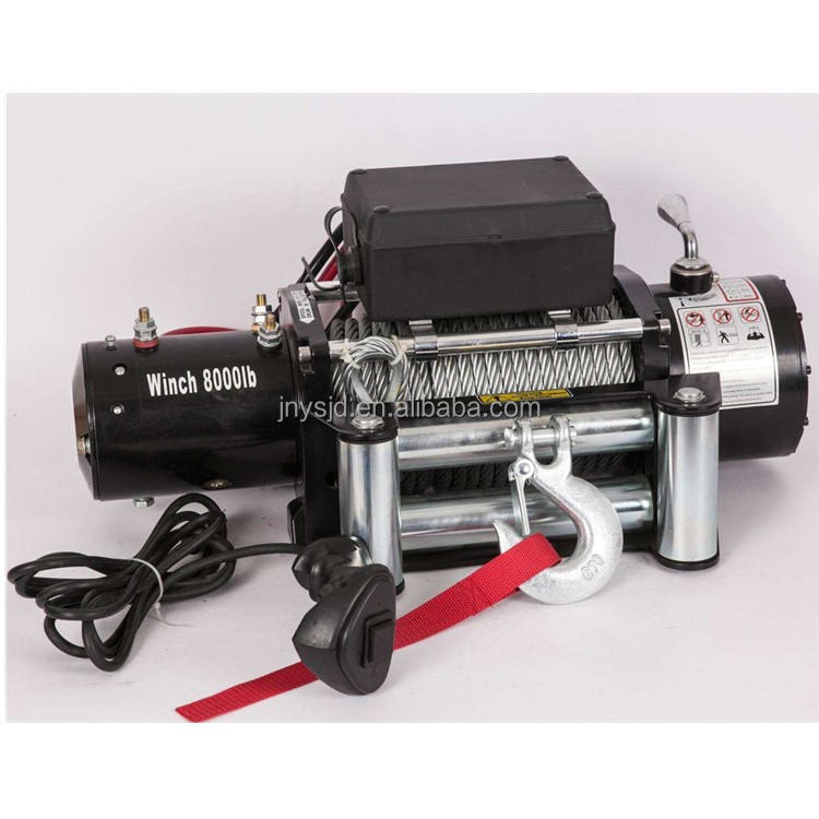 12 v/24 v hot sale12000 lb truck electric winch