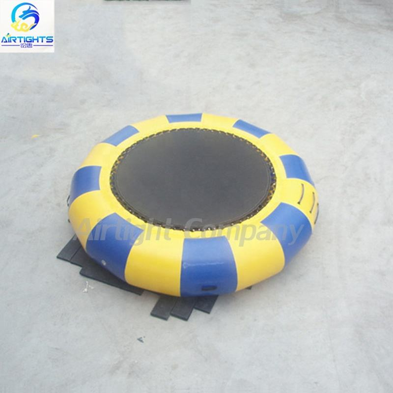 Airtight Water Games Floating on Sea Inflatable Big Water Trampoline for Kids and Adults