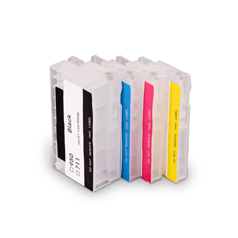 Ocbestjet 711XL Inkt Cartridge Lege Navulbare Inkt Cartridge Voor Hp Designjet T120 T520 Printer