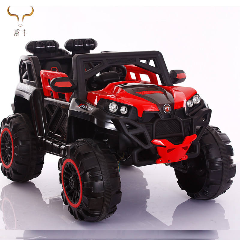 Wholesale Ride on car 24V big toy car for children outside driving on road with LED head light and music and swing function