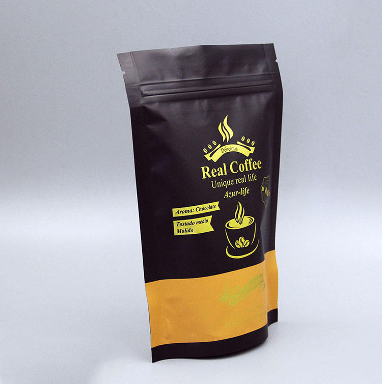 malaysia indonesia aluminum foil coffee bags pouch