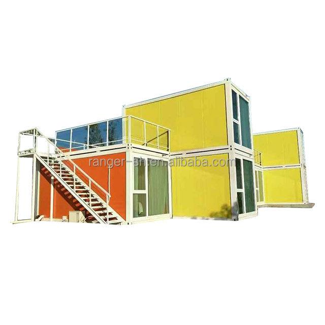 環境制御安いプレハブ住宅家で建設&不動産プレハブ住宅デザイン用ケニアでビーチ
