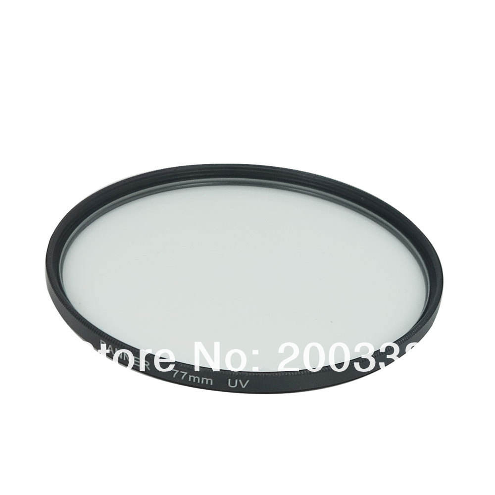 77mm uv filter For Canon EOS 5D Mark III 5DII 6D 1D-X 1V 7D 70D