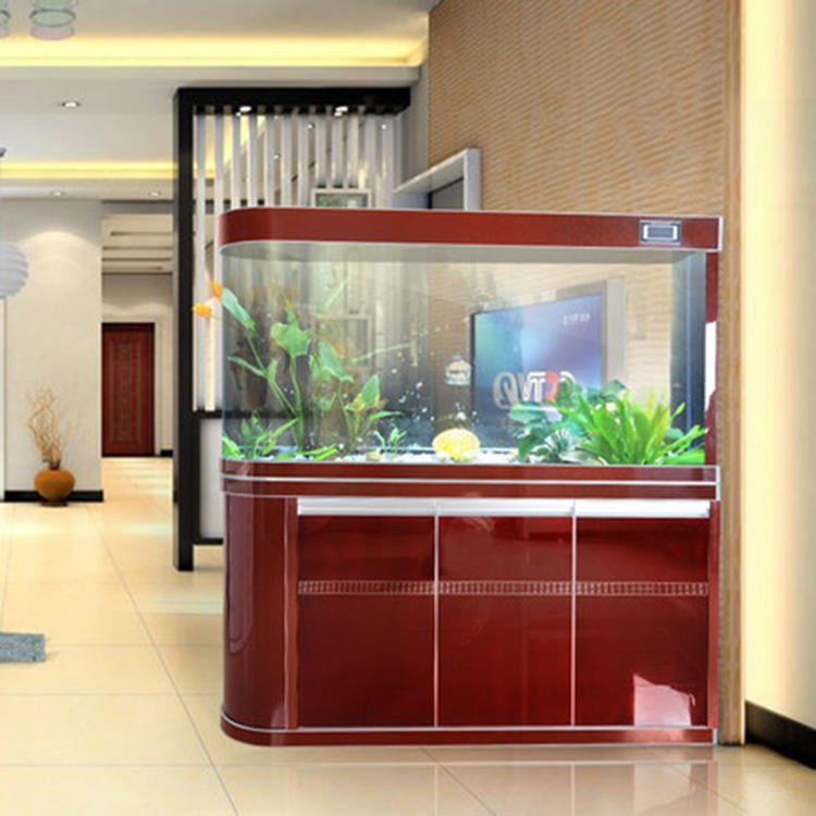 カスタマイズされた家の装飾大透明アクリル水槽水族館ledライト
